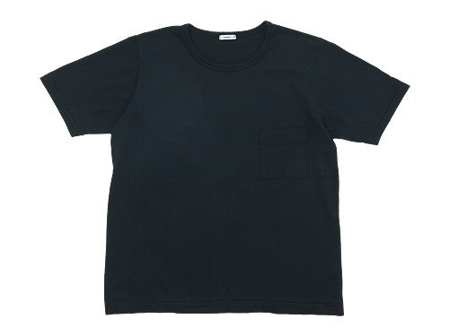 maillot super cotton pocket Tee BLACK