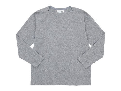 blanc Long Sleeve Living Work Tee TOP GRAY