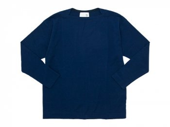 blanc Long Sleeve Living Work Tee NAVY