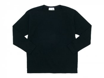 blanc Long Sleeve Living Work Tee BLACK