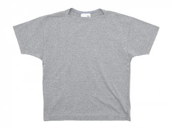 blanc Short Sleeve Living Work Tee TOP GRAY