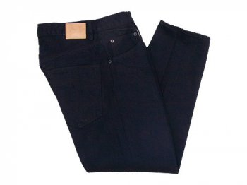 HATSKI Loose Tapered Denim Indigo BK