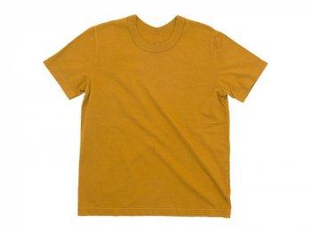 Lin francais d'antan Lurie(ルーリー) Short Sleeve T-shirts COGNAC