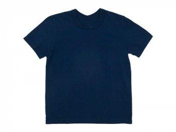 Lin francais d'antan Lurie(ルーリー) Short Sleeve T-shirts NAVY