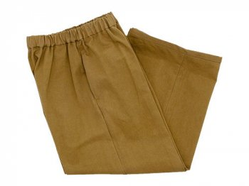 Lin francais d'antan Peyton Cotton wide pants KHAKI