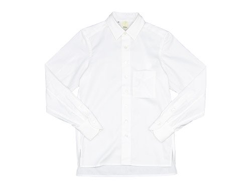TATAMIZE UN P/O SHIRTS WHITE