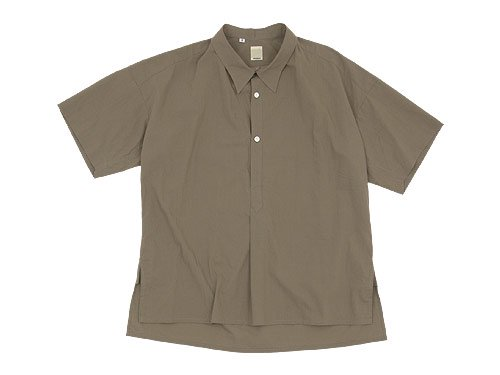 TATAMIZE -SIMME- HALF SLEEVE SHIRTS BROWN