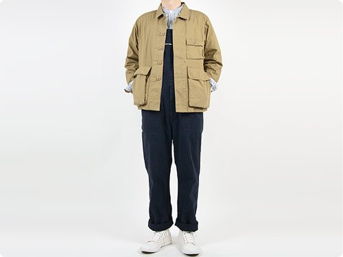 ENDS and MEANS BDU Shirts Jacket WALNUT