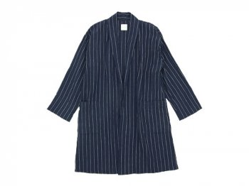 TOUJOURS Gown Coat NAVY