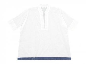 TOUJOURS Sack Shirt WHITE