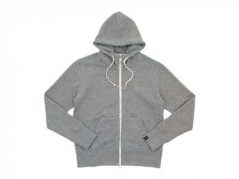 MHL. LIGHT LOOPBACK COTTON HOODED PARKA 020GRAY 〔レディース〕