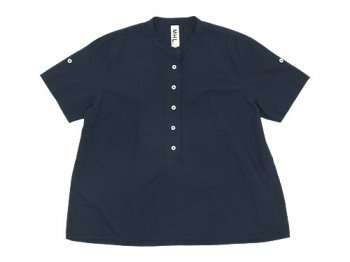 MHL. COTTON RAMIE POPLIN P/O SHIRT