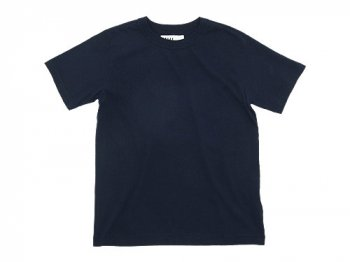 MHL. PLAIN ROUGH JERSEY T 121NAVY〔メンズ〕