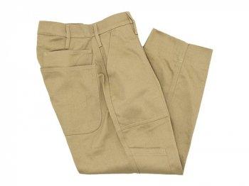 TUKI combat pants 03KHAKI