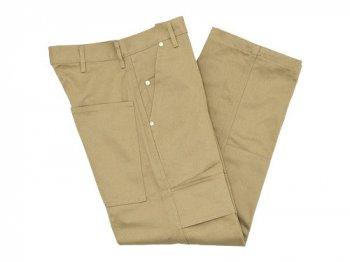 TUKI double knee pants 03KHAKI