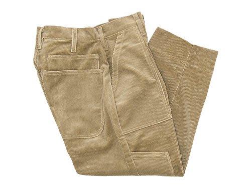 TUKI combat pants corduroy 03KHAKI