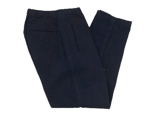 maillot solid denim easy pants DARK NAVY