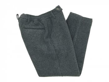 maillot mature taper easy trouser GRAY