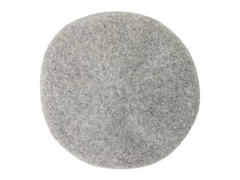 StitchandSew wool beret GRAY