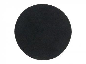 StitchandSew wool beret BLACK