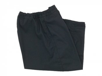ordinary fits ball pants wool BLACK
