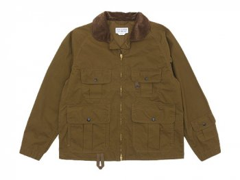 ENDS and MEANS Fishing Jacket BROWN