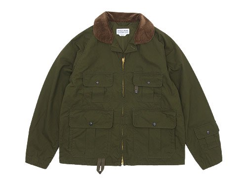 ENDS and MEANS Fishing Jacket OLIVE