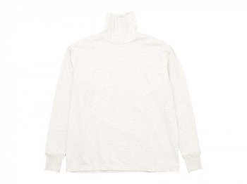 TOUJOURS  Turtle Neck Pullover OATMEAL