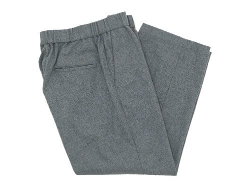 TOUJOURS Easy Trousers LIGHT GRAY 【TM27RP04】