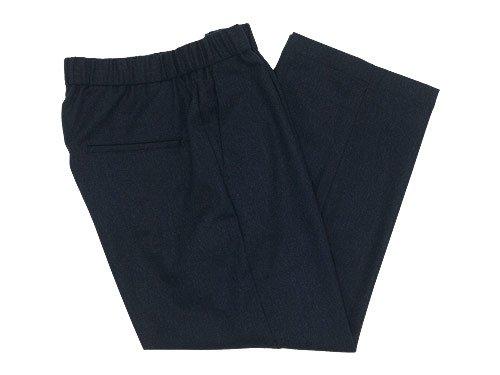 TOUJOURS Easy Trousers NAVY 【TM27RP04】