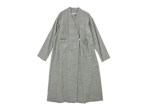 TOUJOURS Frock Robe LIGHT GRAY