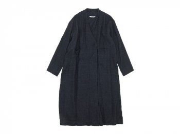 TOUJOURS Frock Robe CHARCOAL NAVY