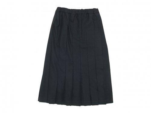 Charpentier de Vaisseau Brisa プリーツスカート Long Wool BLACK
