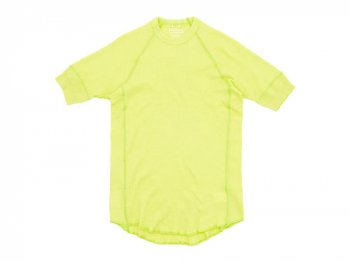 Ohh! Thermal Crew S/S LIME YELLOW