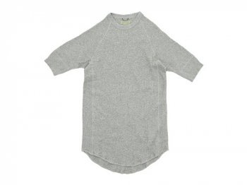 Ohh! Thermal Crew S/S TOP GRAY