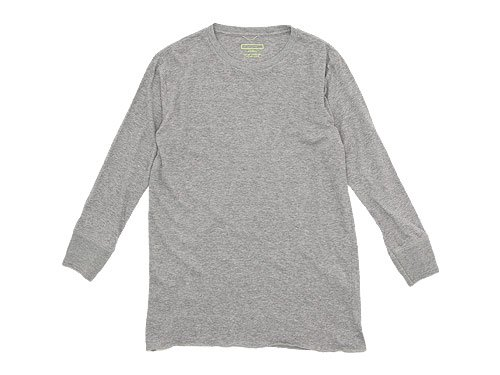 Ohh! Basic 9/10 Tee TOP GRAY