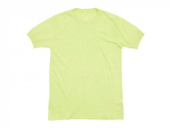 Ohh! Basic S/S Tee LIME YELLOW