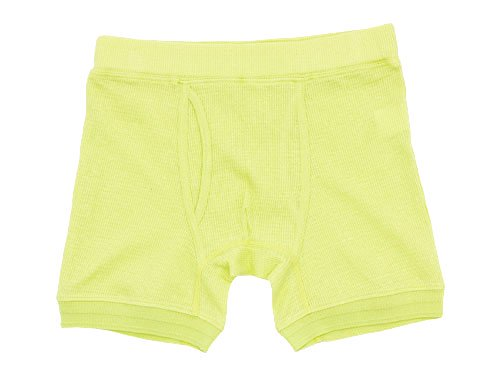 Ohh! Thermal Boxer Briefs LIME YELLOW