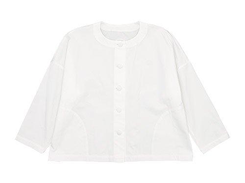 Lin francais d'antan Rohe Cotton Jacket WHITE