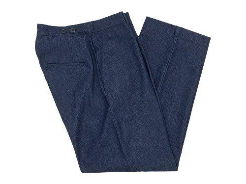 blanc west point wide pants DENIM