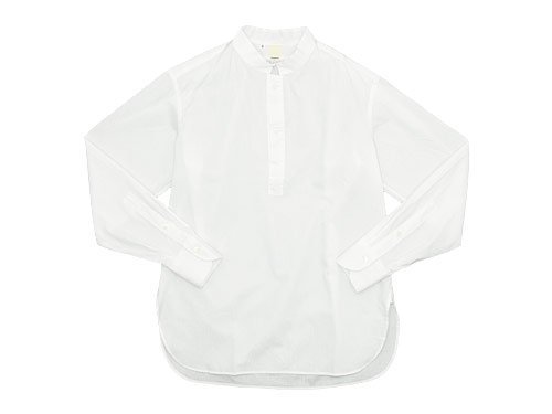 TATAMIZE -SIMME- STAND P/O SHIRTS RELAX WHITE
