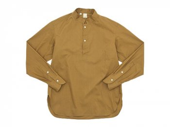 TATAMIZE -SIMME- STAND P/O SHIRTS RELAX BROWN
