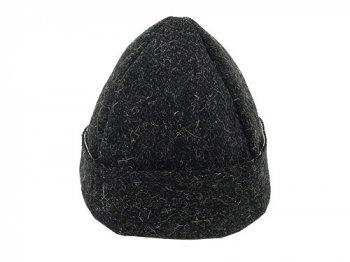 TATAMIZE -TRIM- BOWL CAP WOOL BLACK
