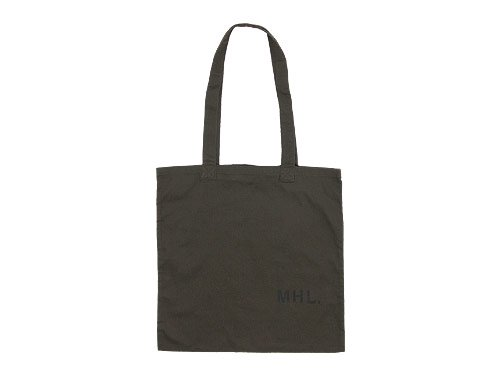 MHL. LIGHT COTTON DRILL TOTE BAG