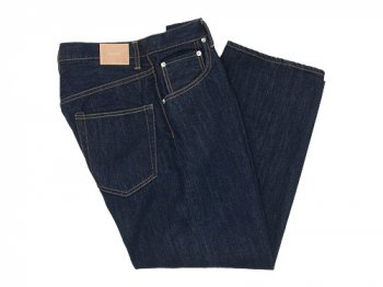 HATSKI Wide Tapered Denim One Wash