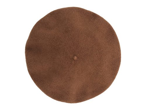 MHL. WOOL FELT BERET 152BROWN