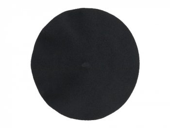 MHL. WOOL FELT BERET 010BLACK