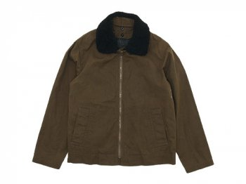 MHL. WASHED WAXED COTTON MARINE JACKET