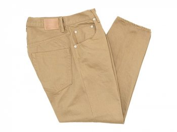 HATSKI Loose Tapered Denim BEIGE