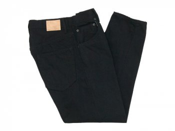 HATSKI Loose Tapered Denim BLACK